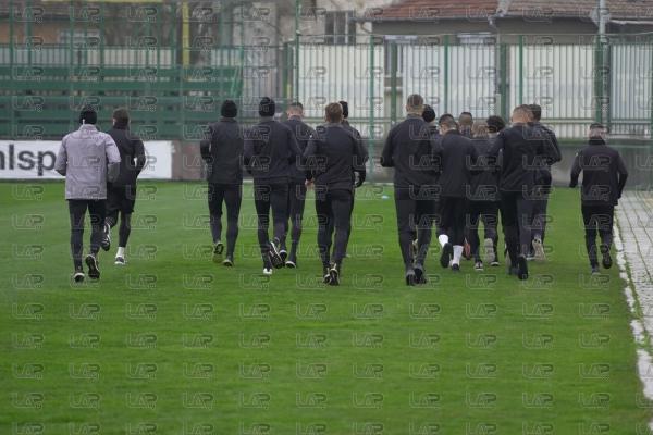 Футбол - Първа тренировка на ПФК Ботев Пловдив за 2021 - 06.01.2021