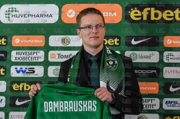 Футбол - Представяне на Валдас Дамбраускас - 08.01.2021