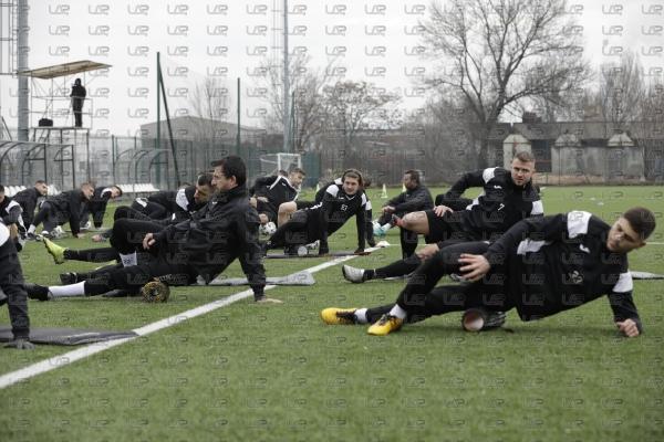 Футбол - Първа тренировка на ПФК Славия за 2021 - 08.01.2021