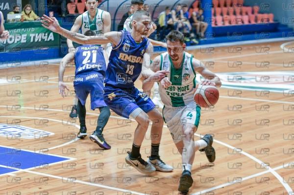 Баскетбол - НБЛ - Черно море -Тича - Тунджа Ямбол