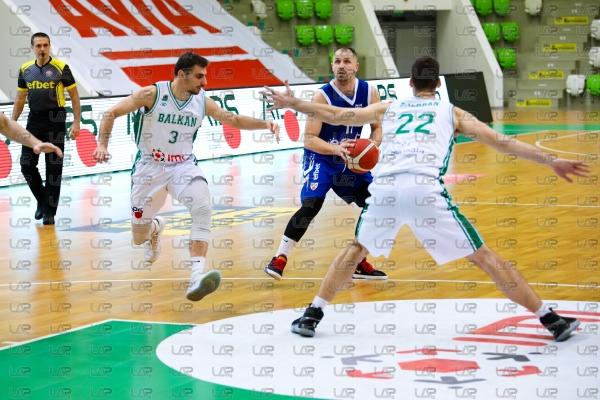 Баскетбол - ПБК Балкан Ботевград - ПБК Спартак Плевен - 08.01.21