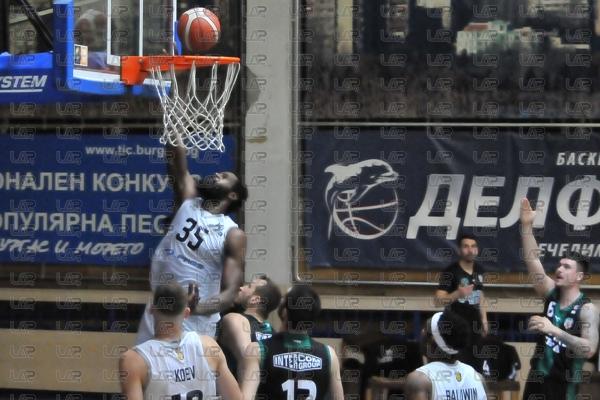 Баскетбол - НБЛ - 12ти кръг -  БК Черноморец - БК Черно море - 11.1.2021