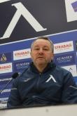 Футбол - Пресконференция на треньорът на ПФК Левски преди гостуването им на Етър във Велико Търново - 20.02.2021