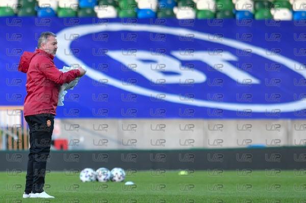 Футбол - Световно първенство 2022 - квалификации - Официална тренировка на България - 30.03.21