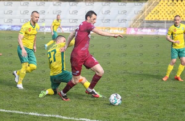 Футбол - Втора Лига - 25-ти кръг - ПФК Добруджа - ПФК Септември - 05.04.2021