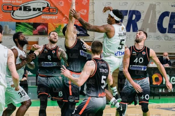 Баскетбол - НБЛ - 24ти кръг - БК Черноморец - БК Академик Пловдив