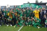 Футбол - Награждаване - ПФК Лудогорец е шампиона на България по футбол с 10та поредна титла - 8.5.2021
