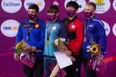 Борба - Олимпийски квалификации - Церемония по награждаване в стил класическа борба - 09.05.2021