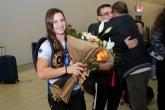 Борба - Световната шампионка по борба Биляна Дудова се прибра в България - 08.10.2021