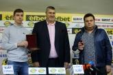 Волейбол - Национален отбор U19 - Пресконференция и награждаване на световните вицешампиони от Иран - 13.10.2021
