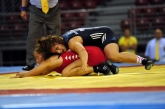 FW 67. 1/2 final, 10 - ITA Dalma Caneva, 16 - BUL Dzanan Manolova.