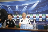 Пресконференция на Стойчо Стоев и Мурат Якин преди мача между Лудогорец и Базел за ШЛ  20.08.2013