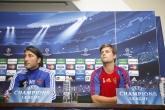 Пресконференция на Стойчо Стоев и Мурат Якин  преди мача между Лудогорец и Базел за ШЛ