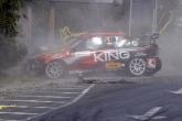 Tежка катастрофа между Илия Царски и Пламен Камбуров на Писта Бургас 22.09.2013