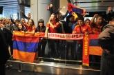 ЕКСКЛУЗИВНО! ФУТБОЛ - Пристигане на националния отбор на летището в Ереван