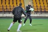 ФУТБОЛ - Национален отбор - тренировка преди мача с Армения - Ереван