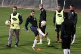ФУТБОЛ - Национален Отбор по Футбол - Тренировка преди контролната среща с Чехия 14.10.3013