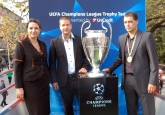 Посрещане на Купат на UEFA в Сара Загора -  23.10.2013 © Copyright: Petyo Turlakov /LAP.bg