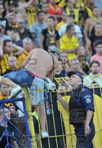 Fans - Football game - Levski Sofia - Botev Plovdiv ,19.08.12 - Sofia - Georgi Asparouhov stadium  +
