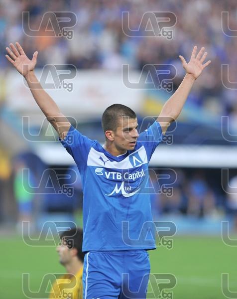11 Simeon Raykov- Football game - Levski Sofia - Botev Plovdiv ,19.08.12 - Sofia - Georgi Asparouhov