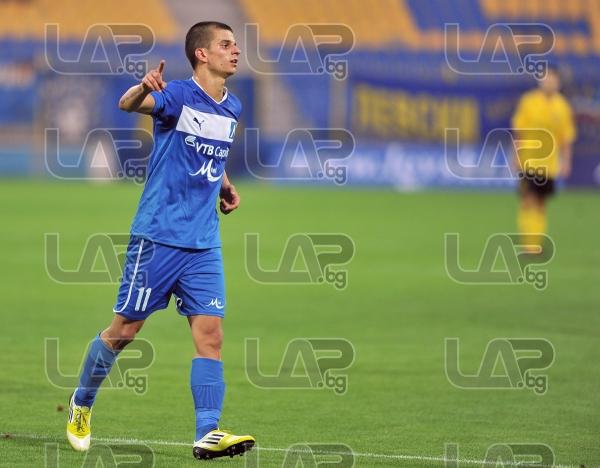11 Simeon Raykov - Football game - Levski Sofia - Botev Plovdiv ,19.08.12 - Sofia - Georgi Asparouho