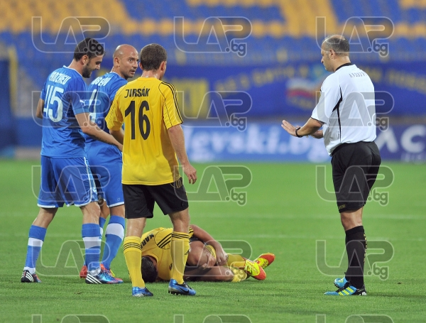45 Gadjev and 4 Angelov - Football game - Levski Sofia - Botev Plovdiv ,19.08.12 - Sofia - Georgi As