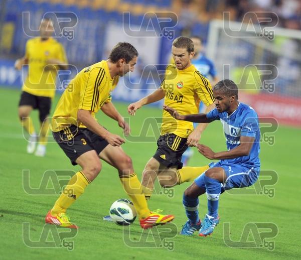 31 Marcio Ivanildo da Silva Marcinho- Football game - Levski Sofia - Botev Plovdiv ,19.08.12 - Sofia
