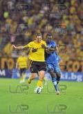 19 Basile De Carvalho - right and Asen Karaslavov - Football game - Levski Sofia - Botev Plovdiv ,19