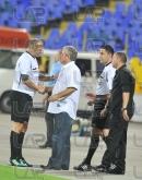 Coach Ferario Spasov and referee Ristoskov - Football game - Levski Sofia - Botev Plovdiv ,19.08.12