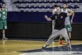 "Баскетбол -  Балкан Тренировка на БК ""Балкан"" преди мача с ""Левски"" - зала - ""Палоти Иринис"""