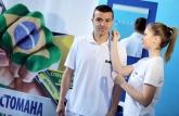 Владимир Гаджев и Емил Гъргоров в загрявка на предстоящия Мондиал - Жилет - 08.05.2014