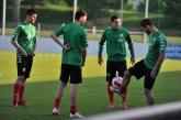 ФУТБОЛ  Национален отбор на България - тренировка в Австрия 22.05.14