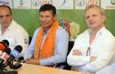 Футбол - Представяне на Красимир Балъков - нов треньор на ПФК Литекс и първа тренировка - 10.06.2014