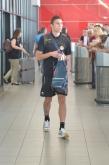 Футбол - ПФК Ботев (Пд) -  пристигане от  Виена - летище София - 25.07.2014