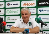 Футбол - Пресконфереция на Стойчо Стоев преди мача с Партизан Белград 29.07.2014
