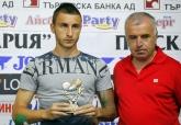Футбол - Нграждаване на Антон Каракачанов - ЦСКА - играч на кръга - 31.07.2014