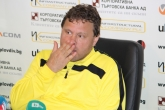 Футбол - Пресконфренция на Вили Вуцов преди мача с Черно море - 01.08.2014