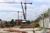 Футбол - Спрян ремонт на стадиона на Ботев Пловдив - кран  - 01.08.2014