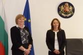 Служебният министър на младежта и спорта Евгения Раданова приема поста от проф. Мариана Георгиева - 06.08.2014