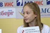 Художествена гимнастика - Пресконференция на национален ансамбъл - девойки за Младежки олимпийски игри - 06.08.2014