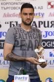 Футбол - Нграждаве на Владимир Гаджев - играч на кръга - 19.08.2014