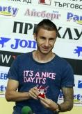 Футбол - футболист на месеца - награждаване Антон Карачанков / ЦСКА / 28.08.2014