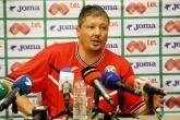 Футбол - Пресконференция на Любослав  Пенев 01.09.2014